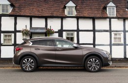 Infiniti QX30, side, static