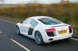 Audi R8 Coupe, rear