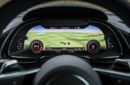 Audi R8 V10 plus, virtual instrument panel