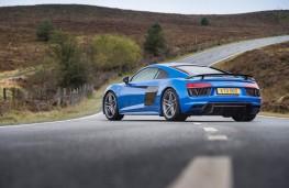 Audi R8 V10 plus, rear