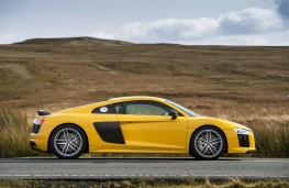 Audi R8 V10 plus, side, static
