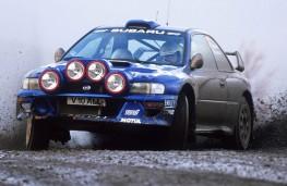Rally legend - Subaru Impreza WRC