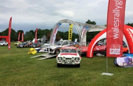Cholmondeley Power and Speed 2016, Wales Rally