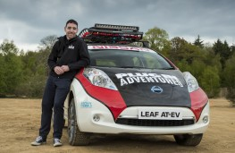 Nissan LEAF AT-EV, Chris Ramsey, Plug In Adventures founder