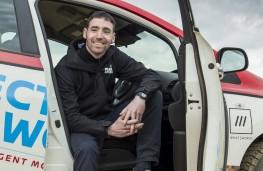 Nissan LEAF AT-EV, Chris Ramsey, Plug In Adventures founder, upright