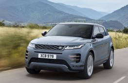 Range Rover Evoque 2019 front action