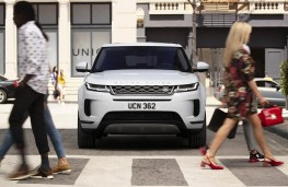 Range Rover Evoque 2019 head on