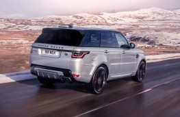 Range Rover Sport HST rear action