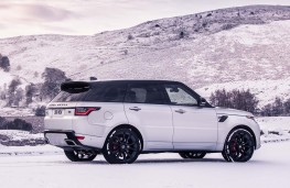 Range Rover Sport HST rear threequarters static