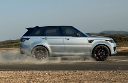 Range Rover Sport HST side action