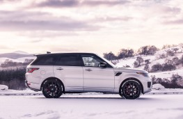 Range Rover Sport HST side static
