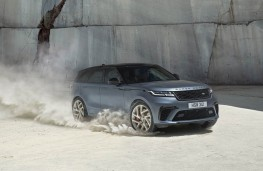 Range Rover Velar, off road action
