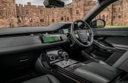 Range Rover Evoque, dashboard
