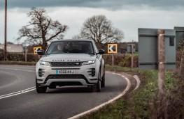 Range Rover Evoque, front action