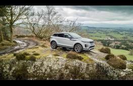 Range Rover Evoque, hill static 1