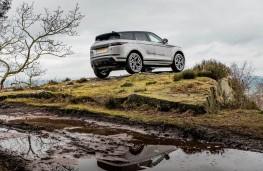 Range Rover Evoque, hill static 2