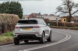 Range Rover Evoque, rear action