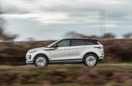 Range Rover Evoque, side action