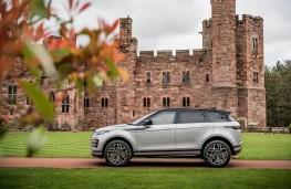 Range Rover Evoque, side static