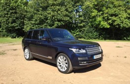 Range Rover, front