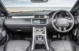 Range Rover Evoque Convertible, dashboard