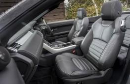 Range Rover Evoque Convertible, front seats
