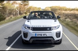 Range Rover Evoque Convertible, full front action