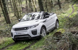 Range Rover Evoque Convertible, off road