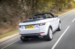 Range Rover Evoque Convertible, rear action
