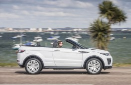 Range Rover Evoque Convertible, side action