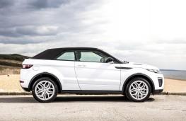 Range Rover Evoque Convertible, side hood up