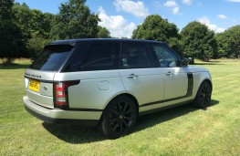 Range Rover Autobiography, rear