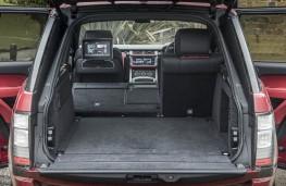 Range Rover SVA, boot