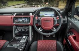 Range Rover SVA, dashboard