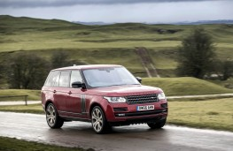 Range Rover SVA, front action 2