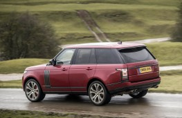 Range Rover SVA, rear action