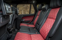 Range Rover SVA, rear seats