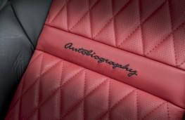 Range Rover SVA, seat detail