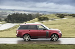 Range Rover SVA, side action