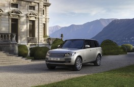 Range Rover, 2016, front