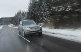 Range Rover, front, action