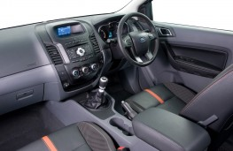 Ford Ranger, interior
