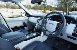 Range Rover, interior