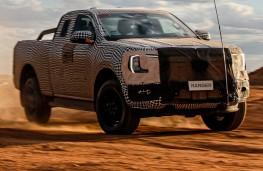 Ford Ranger, 2021, front