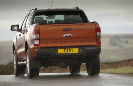Ford Ranger, rear