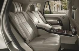 Range Rover, 2016, rear seats