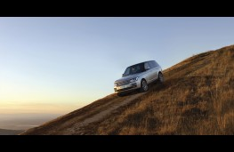 Range Rover, 2016, side, action