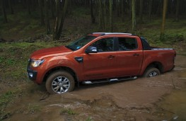 Ford Ranger, off-road
