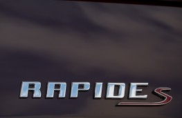 Aston Martin Rapide S, badge