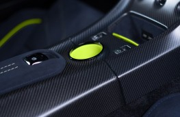 Aston Martin Rapide AMR, 2017, console